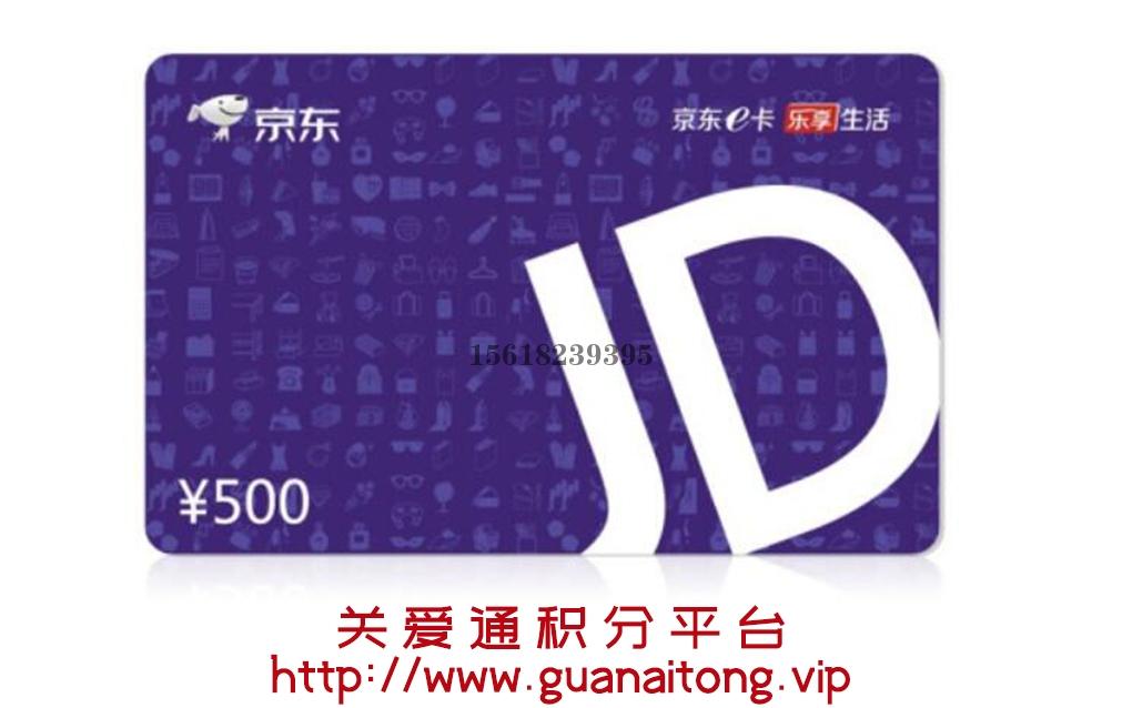 深圳京东E卡500元