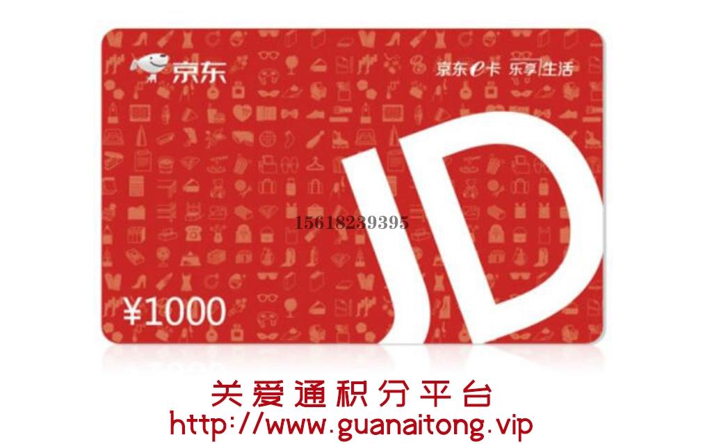 湖南京东E卡1000元